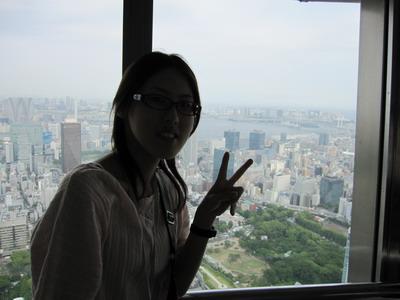 東京見學-天氣不好風景不好