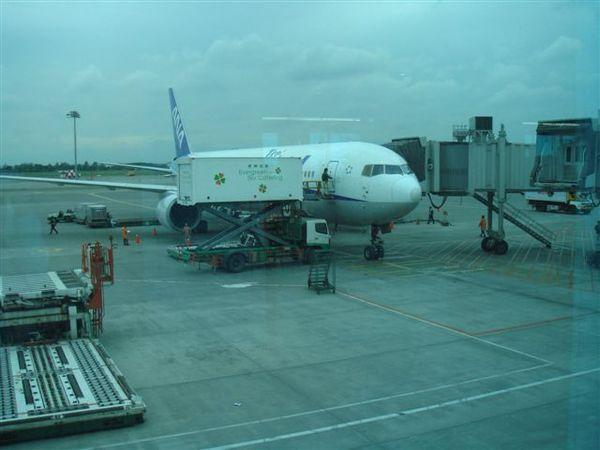 這台就是要前往成田機場的班機~