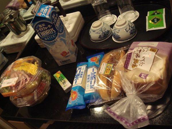 在7-11買的食物