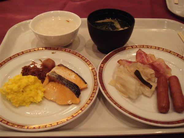 飯店的早餐~