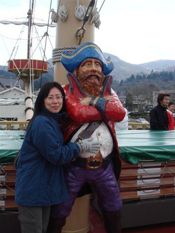 大肚肚的海盜