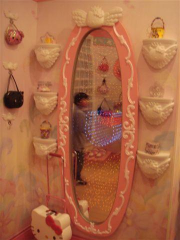 kitty鏡子