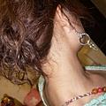 三連環耳環
