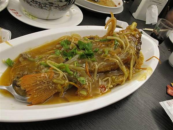 五柳枝魚--其實就是糖醋魚吧