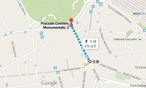 M5 步行距離
