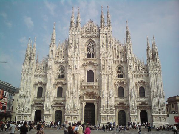 米蘭Duomo大教堂