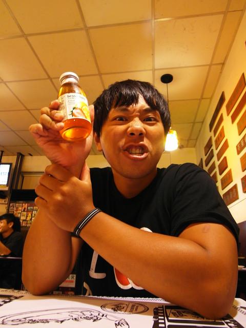 草莓檸檬汁!