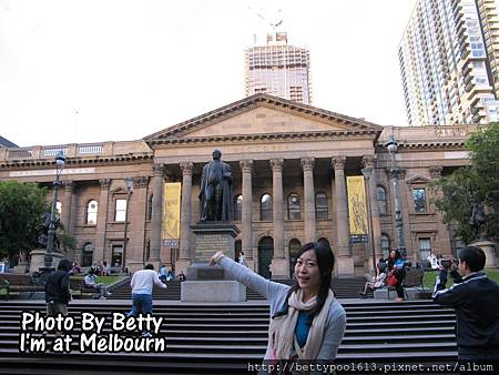 Melbourne-圖書館