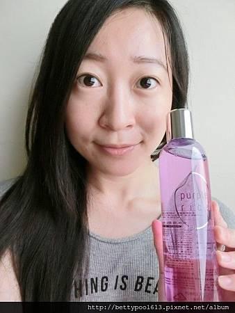 [女人知己試用]肌膚補水♥紫米奇肌噹噹水♥讓我肌膚瞬間啾咪水叮噹