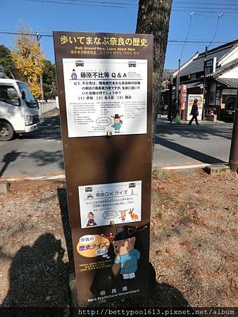 奈良散步走