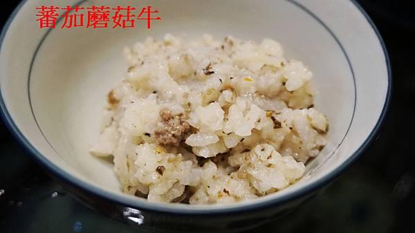 番茄蘑菇牛肉寶寶粥