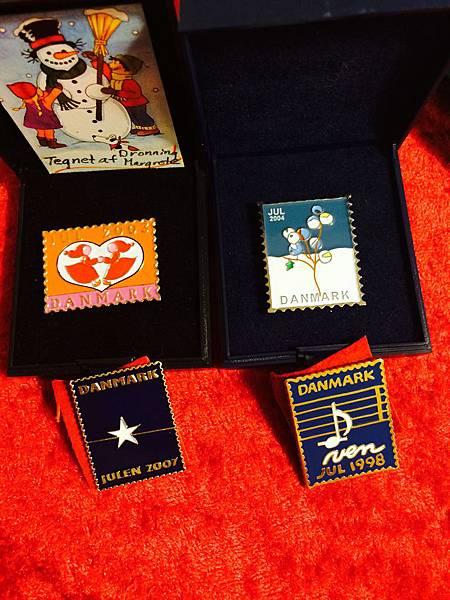 丹麥王國年度紀念郵票胸章