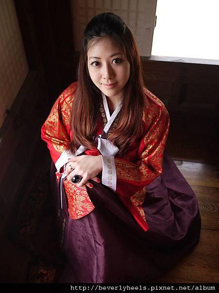 韓國傳統女人的做法好像是這樣...