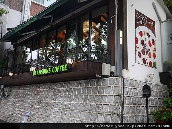 咖啡店融合傳統建築