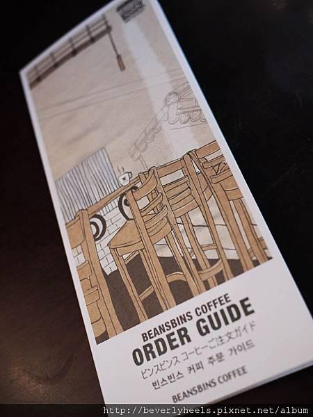 英文的點餐guide