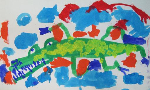 恐怖的鱷魚
