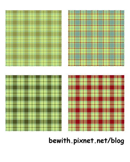 織品設計─經典小格子
