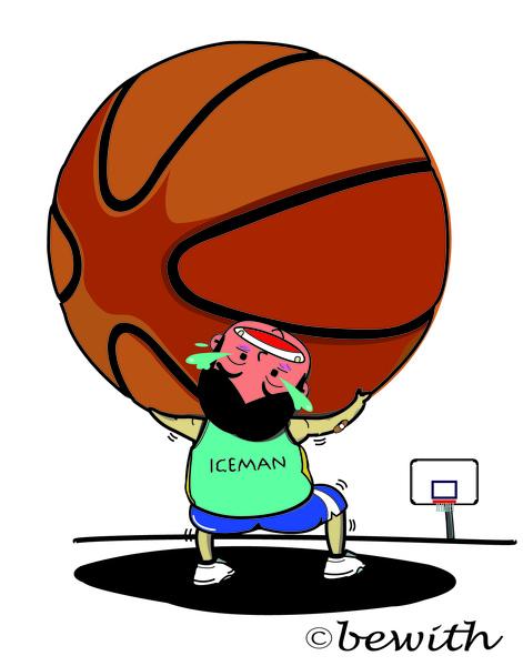 籃球變大了