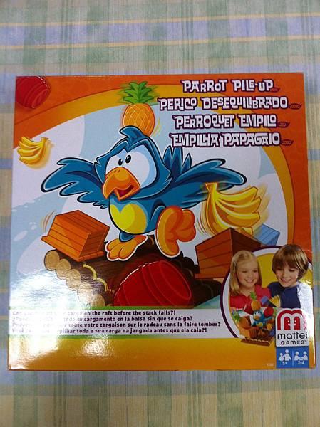 Parrot Pile-Up 鸚鵡木筏疊疊樂