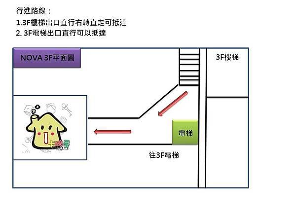 新竹店NOVA行進圖3F