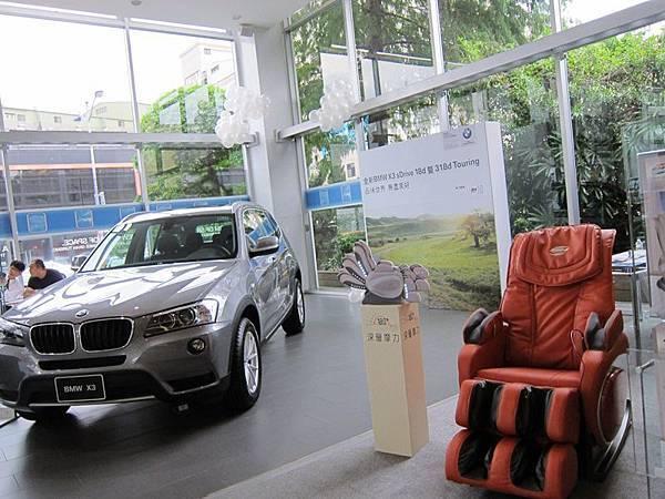 BH 在 BMW 展售中心設置 BH按摩椅SHOWROOM-004
