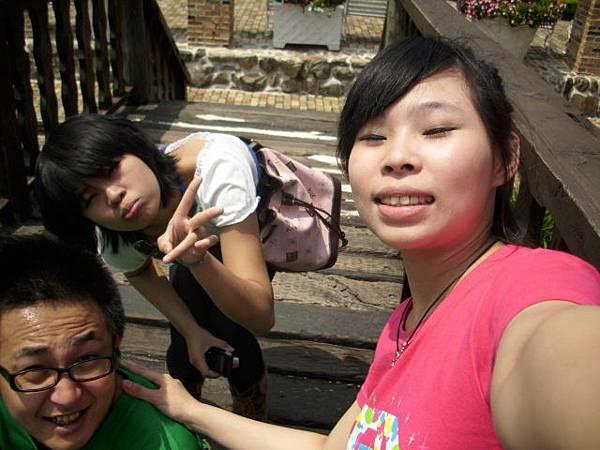 這三個人臉都很爆笑