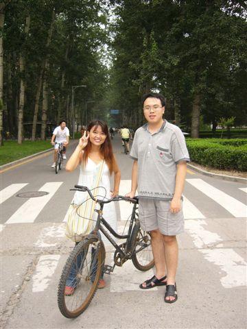 清華大學(拜訪妹妹的朋友)