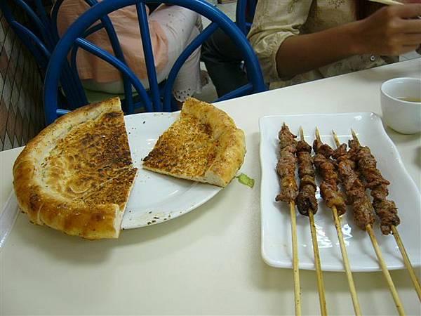 烤囊+烤羊串
