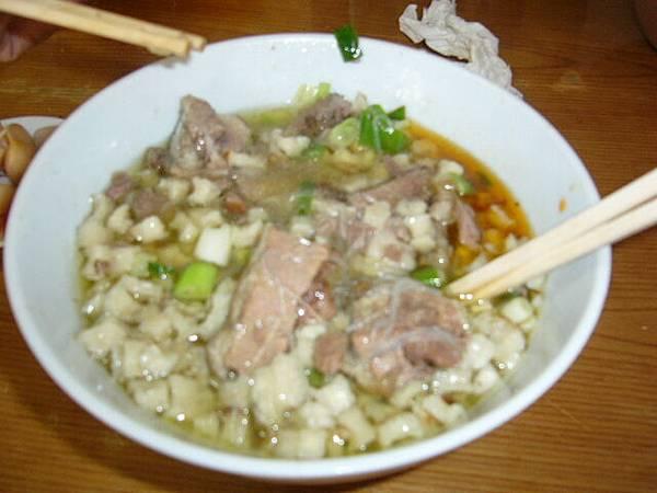西安美食-羊肉泡饃