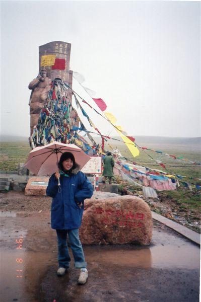 青藏線最高點-唐古拉山口(海拔5231米)