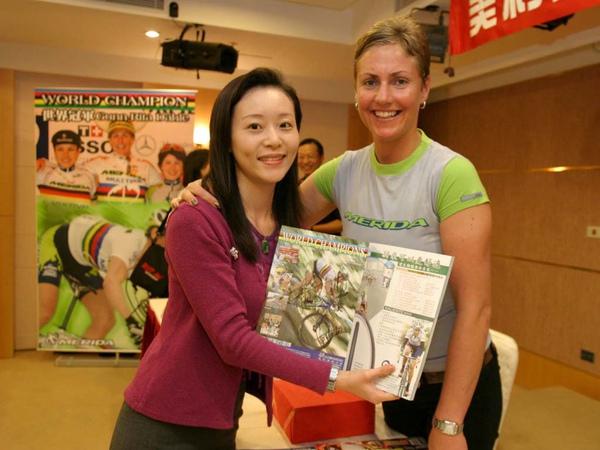 採訪奧運&世界盃登山車冠軍天后Dah.jpg