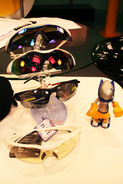 不同款式的運動太陽眼鏡