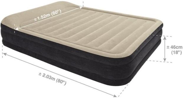 intex雙人床墊