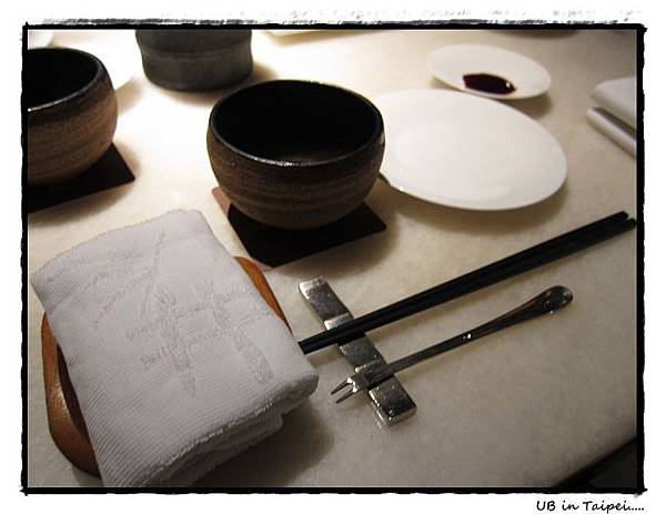 三井美術館-高雅的餐具.JPG