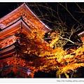清水寺-夜楓旁的三層塔.JPG