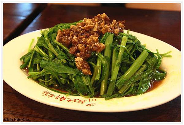 段純貞牛肉麵-燙青菜