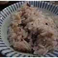杏子豬排-五穀米