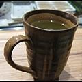 上引水產-北山綠茶熱飲