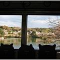 貴志川線-車窗外的大池遊園