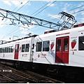 貴志川線-草莓列車車身