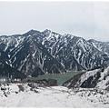 立山黑部-大觀峰纜車黑部湖