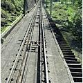 立山黑部-立山電纜車鐵軌