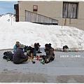 立山黑部-室堂滑雪遊客