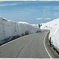 立山黑部-高原巴士雪壁