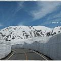 立山黑部-高原巴士雪壁雪山