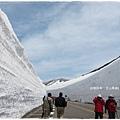 立山黑部-雪之谷雪壁