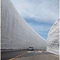 立山黑部-雪壁轎車