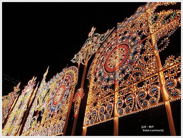 神戶燈祭-小燈泡牆2.JPG
