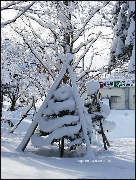羊蹄山-植物積雪.JPG