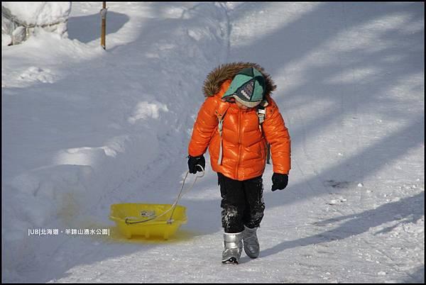 羊蹄山-簡易滑雪板.JPG
